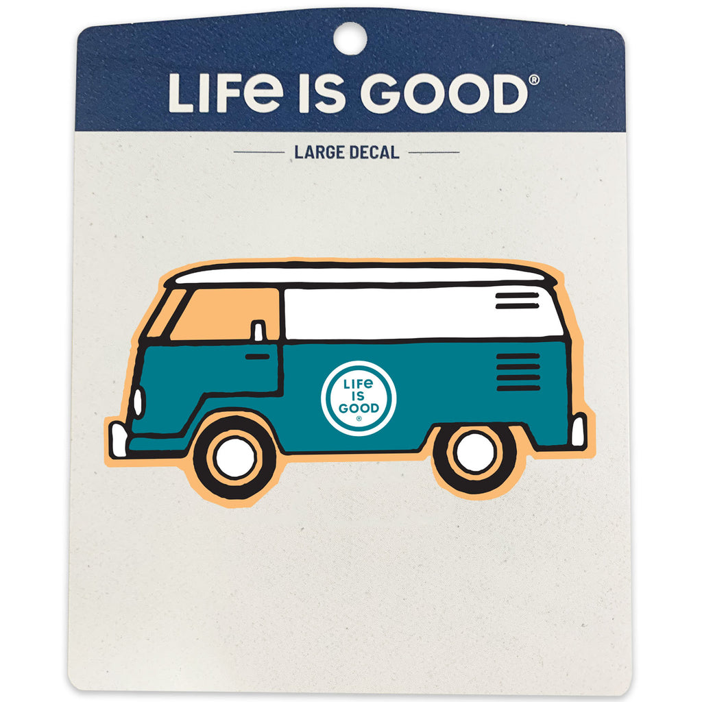 Life is Good. Sticker: Happy Van