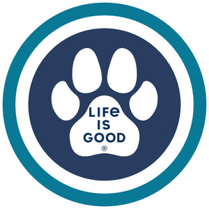 Life is Good. Magnet: Paw Coin