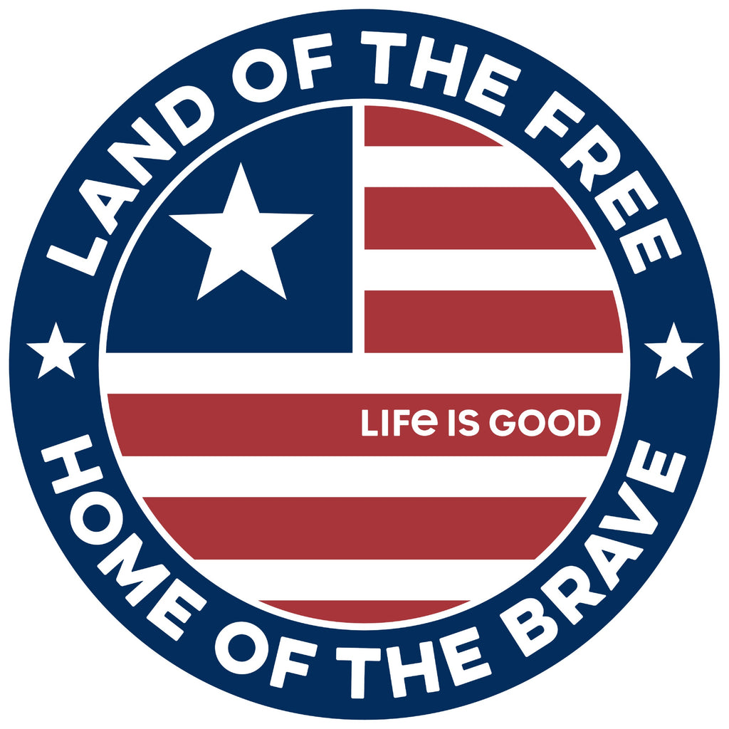 Life is Good. Magnet: Land of the Free