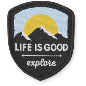 Life is Good. Positive Patch: Explore More