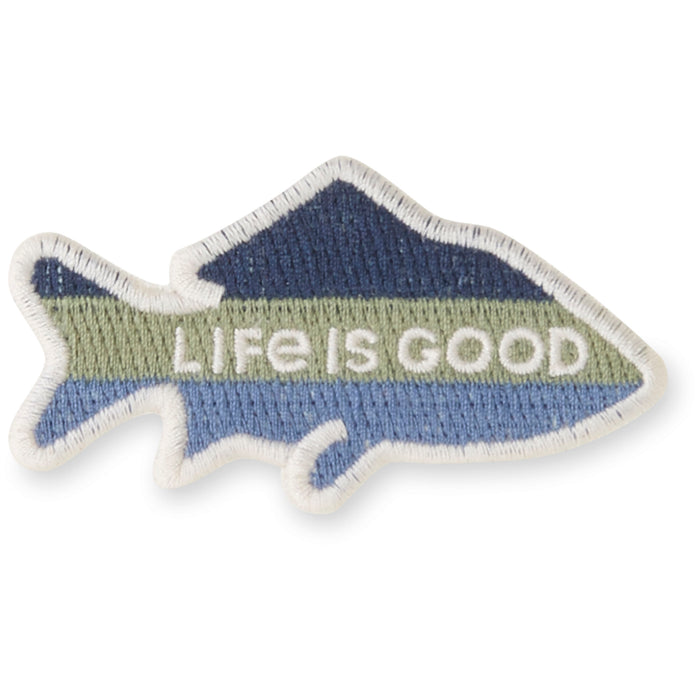 Life is Good. Positive Patch: Fish