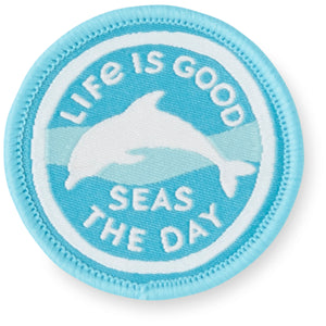 Life is Good. Positive Patch: Dolphin Days