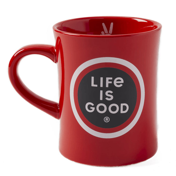 Life is Good Diner Mug, LIG Coin
