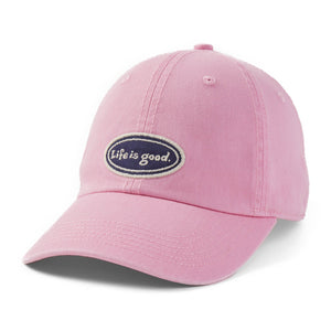 Life is Good. Vintage Chill Cap LIG Oval-Happy Pink