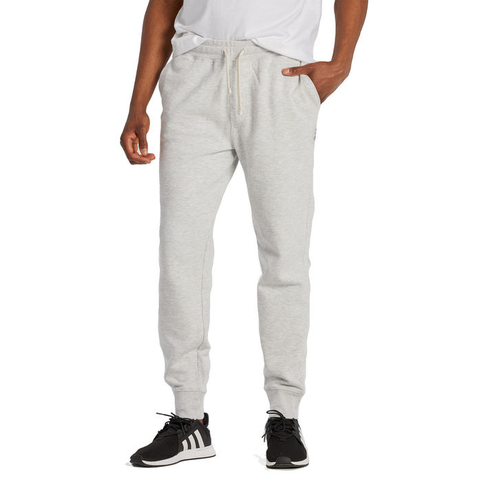 Life is Good Men's Simply True Jogger, Light Heather Gray