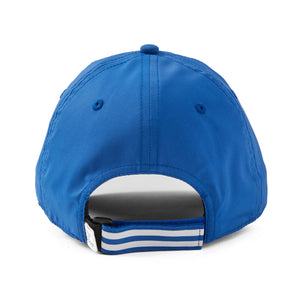 Life is Good. Active Chill Cap LIG Striped Coin, Royal Blue