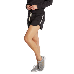 Life is Good Women's Life Is Good Simply True Short, Jet Black