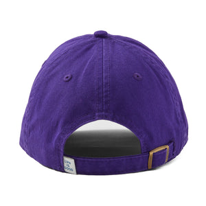 Life is Good Three Daisies Chill Cap, Deep Purple - One Size
