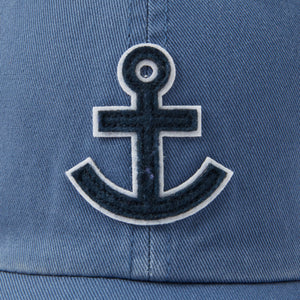 Life is Good. Chill Cap Anchor, Vintage Blue