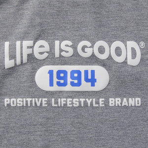 Life is Good Women's LIG Positive Lifestyle Brand Active Tank, Slate Gray
