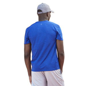 Life is Good Men's LIG 94 Active Tee, Royal Blue