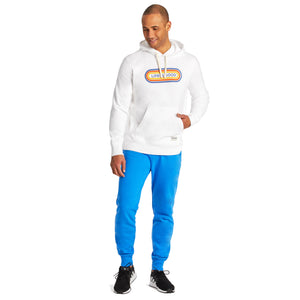 Life is Good Men's LIG Pill Simply True Hoodie, Cloud White