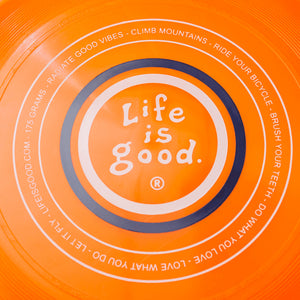 Life is Good. Disc: Vintage LIG Coin, Orange
