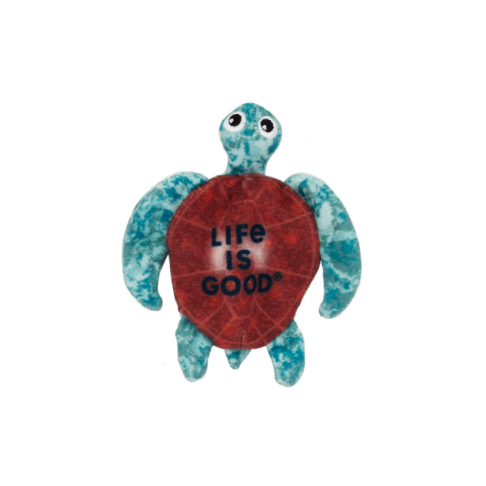 Life is Good. Catnip Cat Toy, Turtle