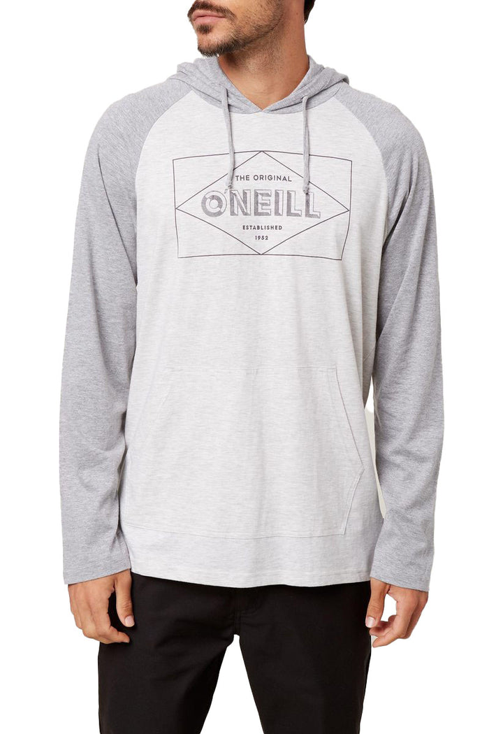 O'NEILL MENS FIELDS PULLOVER HEATHER GREY