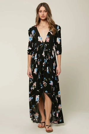 O'NEILL WOMENS BOYCE MAXI DRESS