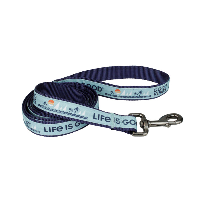 Life is Good. Beach Dog Leash