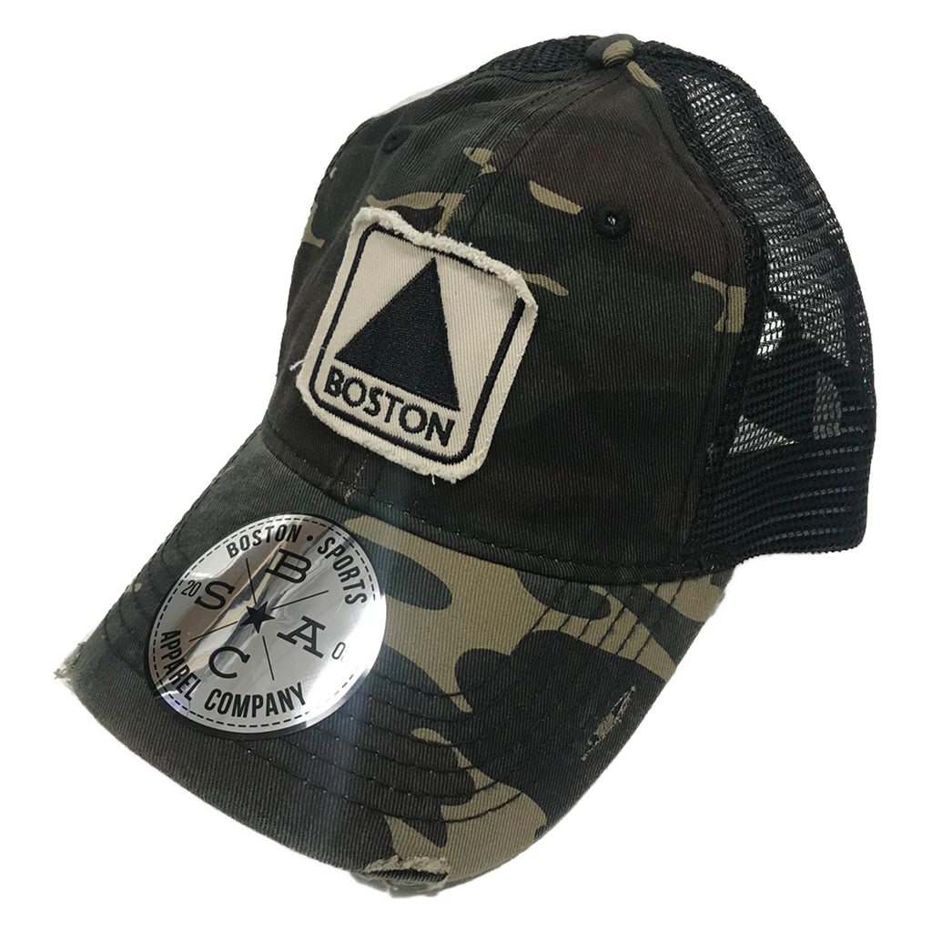 Boston Sports Apparel Trucker Hat: Boston Citgo - Camo
