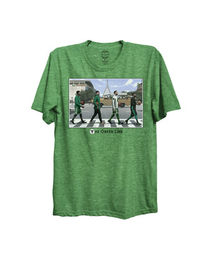 Boston Sports Group. Boston Celts Green Line Tee - Kelly Green