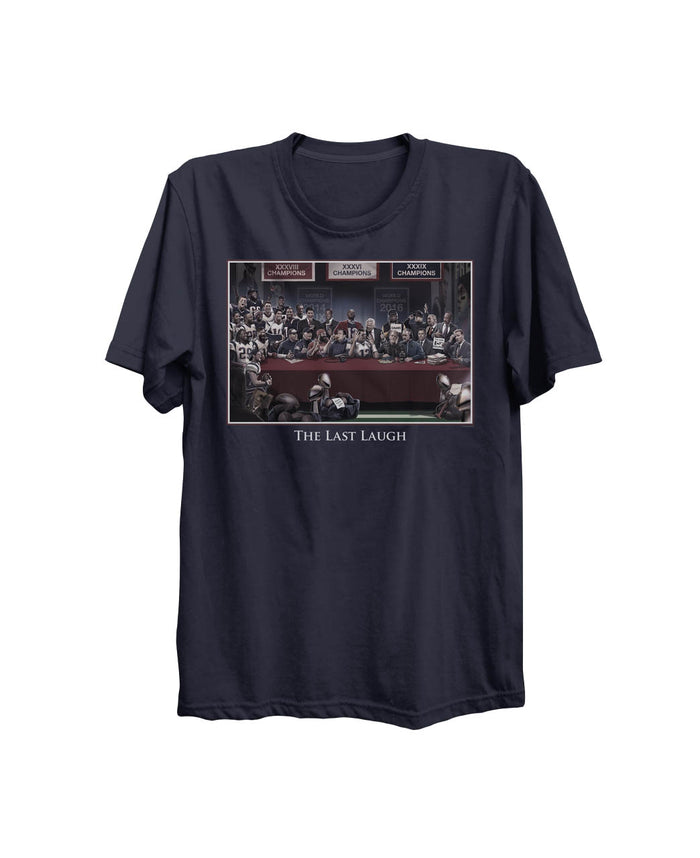 Boston Sports Group. Last Laugh Tee - Heathered Gray