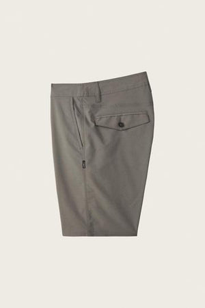 O'NEILL MENS STOCKTON 20 INCH HYBRID SHORTS GREY
