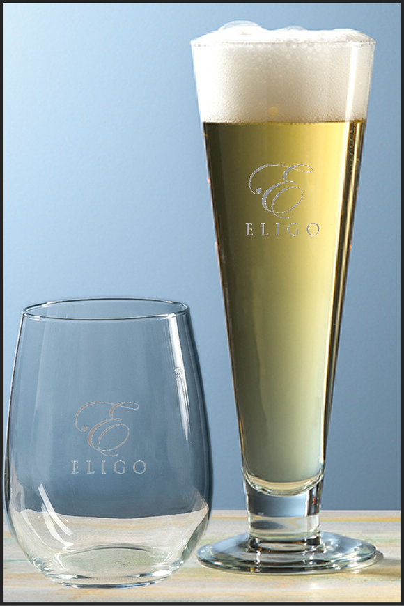 Pilsner Glasses Set of 4