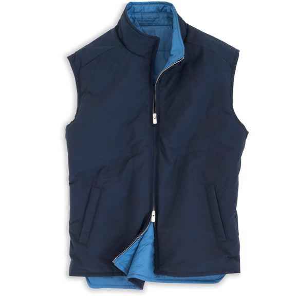 Peter Millar Pamlico Reversible Quilted Vest
