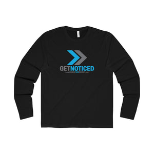"""GET NOTICED"" Premium Soft Cotton Long Sleeve Crew - Double Take Recruitment Videos"