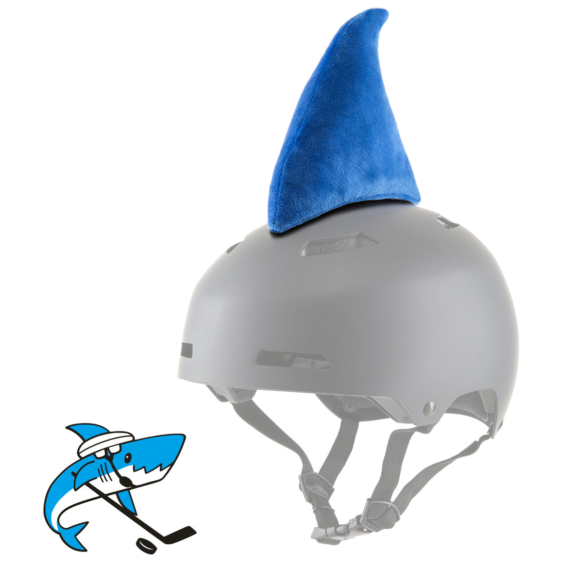 Shaka the Shark Helmet Fin
