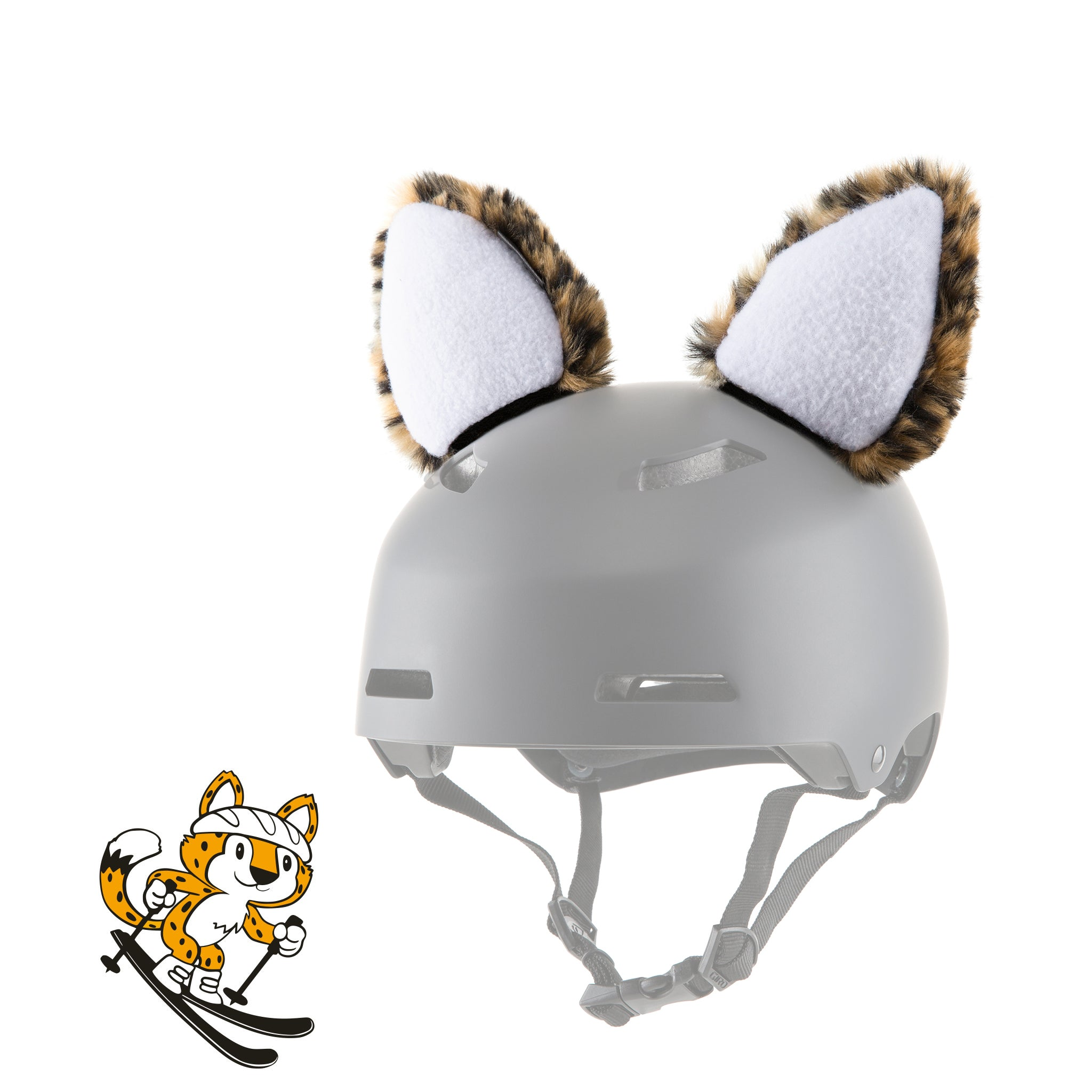 Leopold the Leopard Helmet Ears/Covers/Accessories