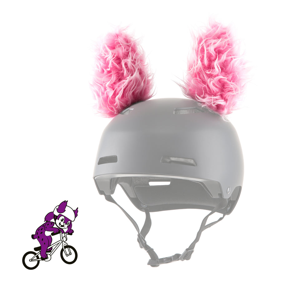 Feli the Lynx Helmet Ears/Covers Accessory in Pink