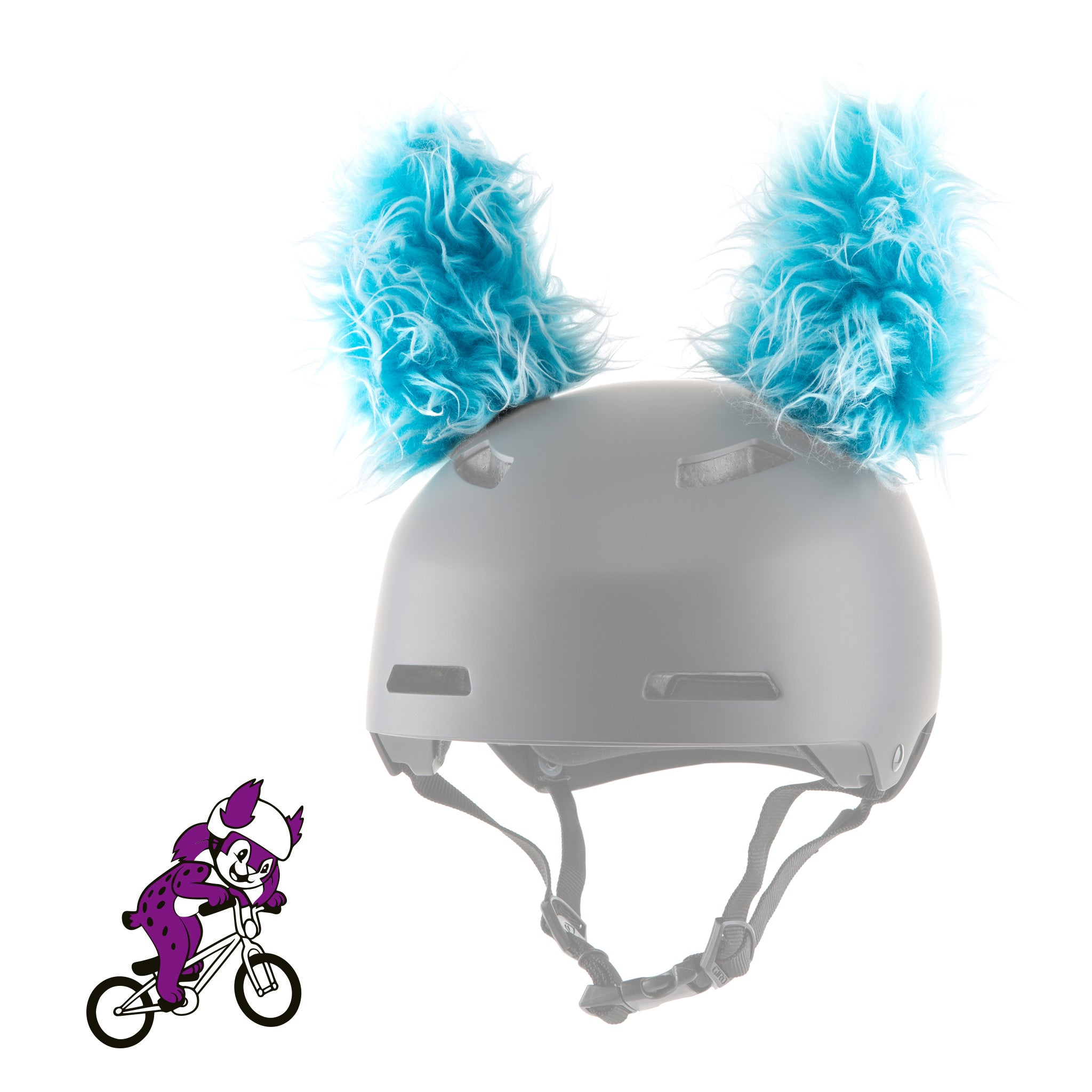 Feli the Lynx Helmet Ears/Covers/Accessories in Pink & Blue