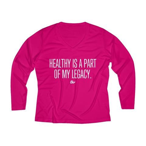 Healthy Legacy Performance V-neck Tee
