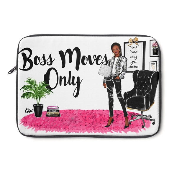 Boss Moves Only Laptop Cover (Chocolate Skinned)