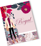 Maroon Royal Prayer Journal