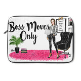Boss Moves Only Laptop Cover (Light Skinned)