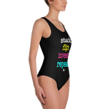 Stack Flip One-Piece Swimsuit