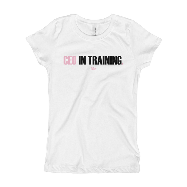 Girl's CEO In Training T-Shirt