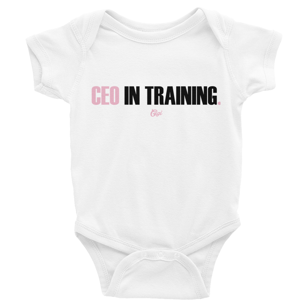 CEO In Training Onesie