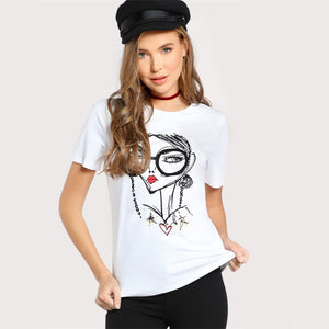 Jessica the Illustration T-Shirt