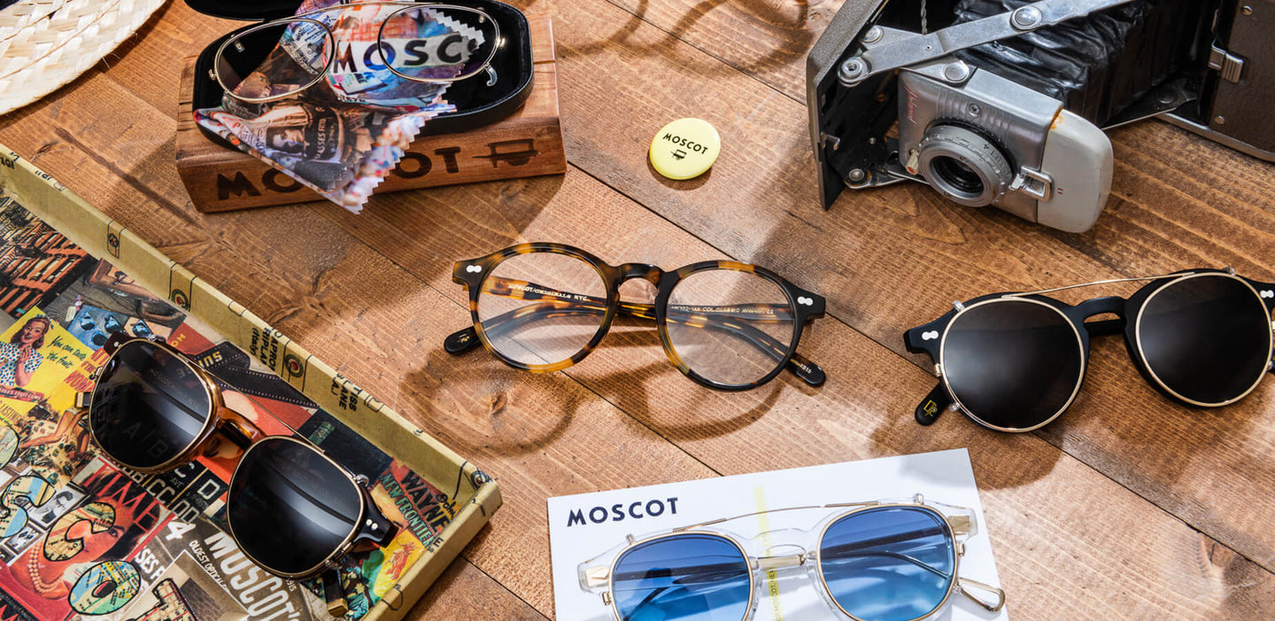 On Frames Classic Moscot 1915 Nyc Clip GlassesTimeless Since IEH2D9YW