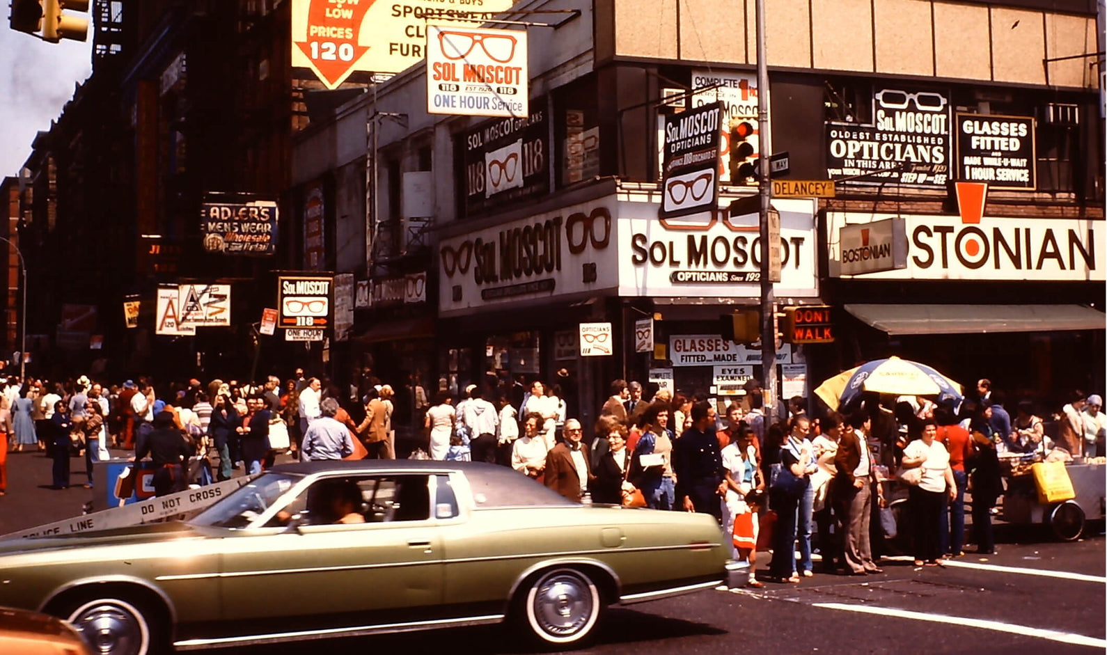 By the 1970s, MOSCOT expanded their 118 Orchard Shop to include the ground-level space below the retail shop. MOSCOT would continue to occupy the corner space, later hosting MOSCOT Music events, until their next big move in 2012.