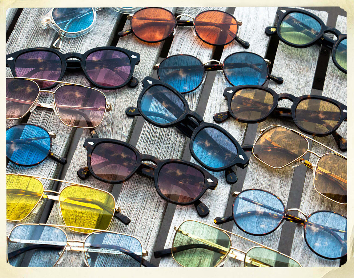 Collection of Custom Color-Tinted Eyeglasses
