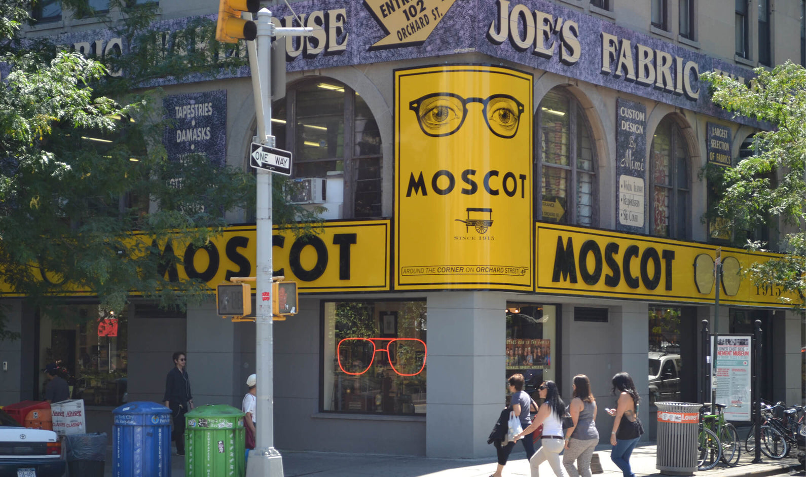 "In July 2013, after 77 years, the MOSCOT Orchard Street Shop ""crossed Delancey Street,"" from 118 Orchard to 108 Orchard when its iconic building was sold – an extraordinarily propitious outcome for an institution determined to keep a foothold in its beloved Lower East Side for the next generation of Moscot. Hyman would be proud."