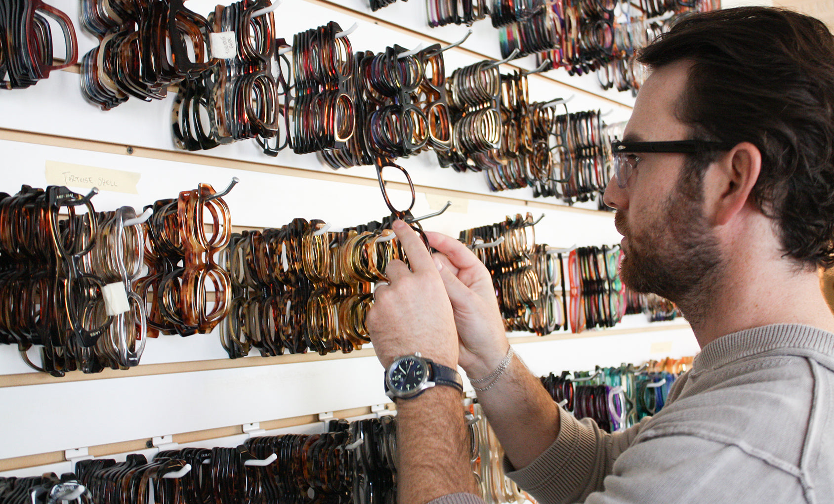 Behind the Lense with the designer, Zack Moscot.