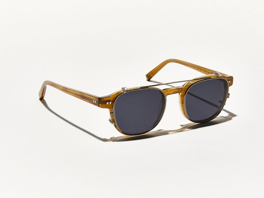 45c7b30e91 ARTHUR CLIP | Timeless Square Clip-on Sunglasses | MOSCOT - NYC ...