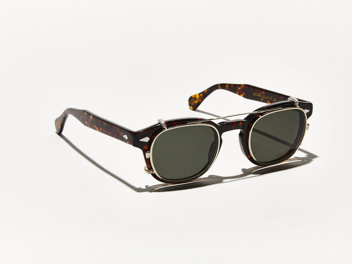 CLIPTOSH | Timeless Square Clip-on Sunglasses | MOSCOT - NYC Since 1915