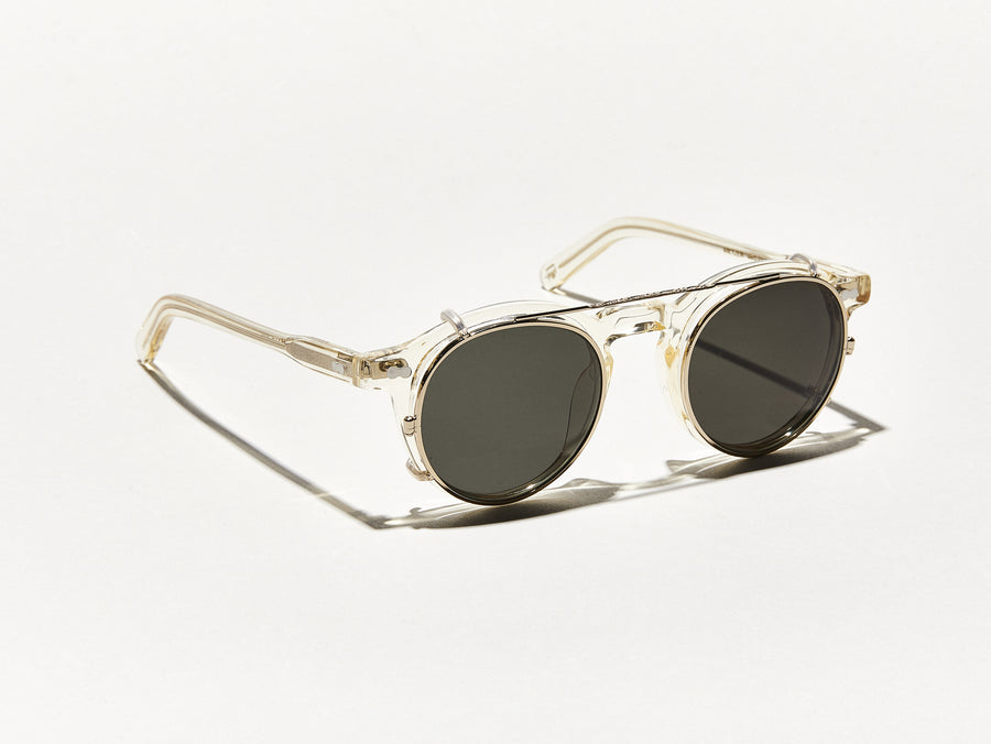 c8b986f1a1 CLIPZEN | Timeless Round Clip-on Sunglasses | MOSCOT - NYC Since 1915