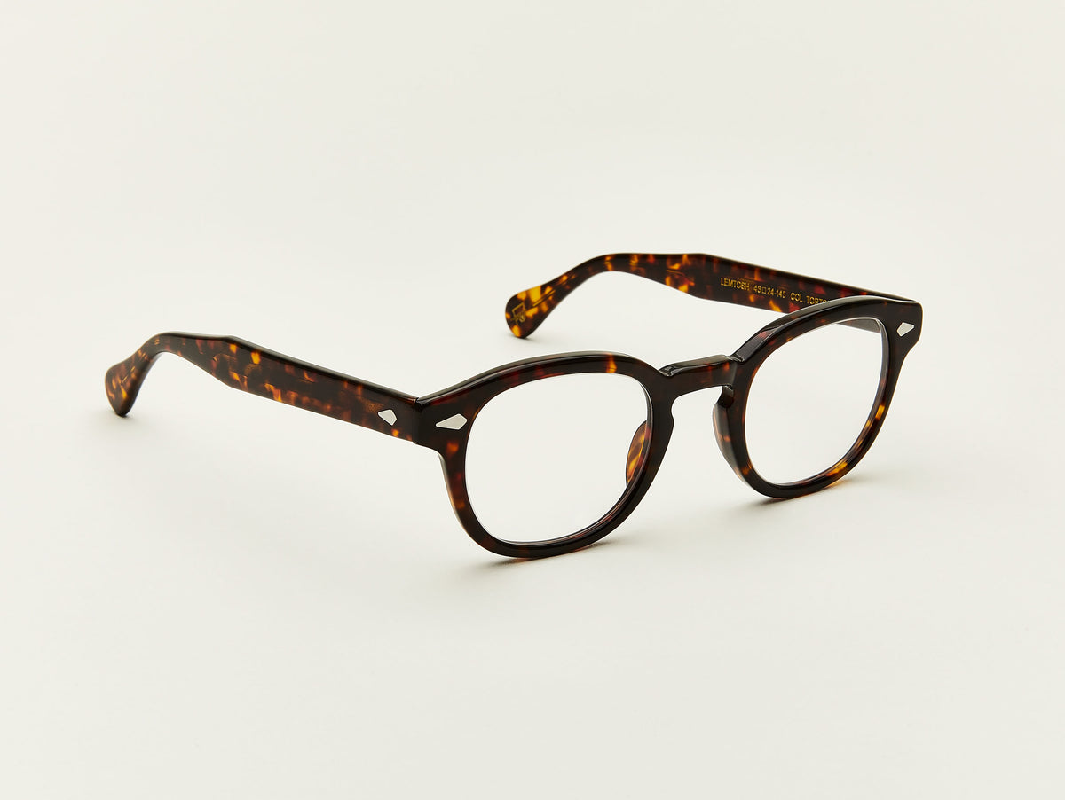 Lemtosh Timeless Square Glasses Moscot Nyc Since 1915 Frame Kacamata Eyeglasses Retro Style Black