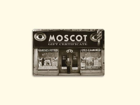 MOSCOT GIFT CARD